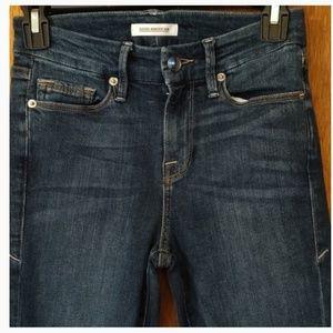 Good American Good Legs high waisted jeans.